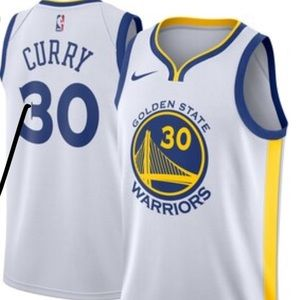 Stephan Curry NBA golden state warriors jersey